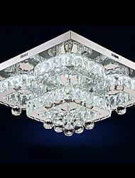 cheap -1-Light UMEI™ 50 cm Crystal / Adjustable / Dimmable Flush Mount Lights Metal Crystal Electroplated LED / Modern 110-120V / 220-240V / FCC