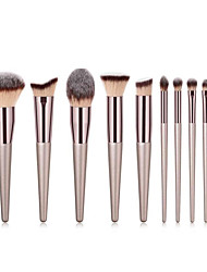 cheap -10-pack-makeup-brushes-professional-make-up-nylon-brush-full-coverage-wooden-bamboo