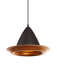 cheap -1-Light CONTRACTED LED Cone Pendant Light Downlight Painted Finishes Aluminum Aluminum Creative Adjustable 110-120V 220-240V Bulb Not Included E26 E27