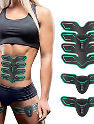 cheap -Abs Stimulator Abdominal Toning Belt EMS Abs Trainer Sports Silicone ABS Fitness Gym Workout Bodybuilding Electronic Wireless Muscle Toner Weight Loss Ultimate Training For Men Women Abdomen Home