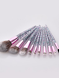 cheap -10-Pack Makeup Brushes Professional Makeup Brush Set / Make Up / Blush Brush Nylon fiber Professional / Full Coverage / Glitter Shine