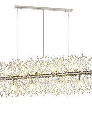 cheap -12 Bulbs OBSESS® 40 cm Crystal Chandelier Metal Island Electroplated LED / Modern 110-120V / 220-240V