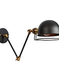 abordables -Style mini / Design nouveau simple / Rétro / Vintage Lumières de bras oscillant Bureau / Bureau de maison / Magasins / Cafés Métal Applique murale 110-120V / 220-240V 60 W