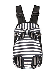 cheap -Dog Cat Carrier & Travel Backpack Pet Carrier Portable Casual / Daily Stripes Black Camouflage Color Rainbow