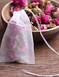 Недорогие -Пакетики чая 20шт пустые ароматизированные чайные пакетики со строкой исцелить печать фильтровальная бумага для травы болс рассыпного чая