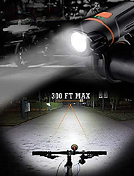 abordables -LED Eclairage de Velo Eclairage de Vélo Avant XP-G2 VTT Vélo tout terrain Vélo Cyclisme Imperméable Portable Largage rapide Poids Léger Lithium-ion polymère 350 lm Rechargeable Batterie Li intégrée