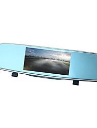 Недорогие -ziqiao xr805 full hd 1080p 5 дюймов ips ночного видения автомобильный видеорегистратор зеркальная камера видеорегистратор с двумя объективами регистратор