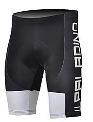 cheap -ILPALADINO Men's Cycling Padded Shorts Bike Shorts Padded Shorts / Chamois Pants Breathable 3D Pad Ultraviolet Resistant Sports Polyester Lycra Black / White Road Bike Cycling Clothing Apparel
