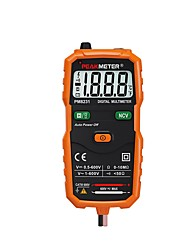 Недорогие -цифровой мультиметр амперметр pm8231 смарт-мультиметры бесконтактный мини-авто постоянного тока переменное напряжение сопротивления тестер ncv