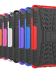 cheap -Case For Lenovo Lenovo Tab3 7 Shockproof / with Stand Back Cover Tile / Armor Hard PC