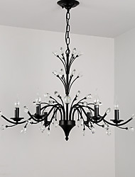 cheap -JLYLITE 6-Light 86 cm Mini Style Chandelier Metal Painted Finishes Retro / Traditional / Classic 110-120V / 220-240V