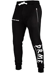 cheap -Men's Jogger Pants Joggers Running Pants Streetwear Drawstring Sports Winter Pants / Trousers Sweatpants Bottoms Fitness Gym Workout Workout Anatomic Design Wearable Fashion Grey Black / Stretchy