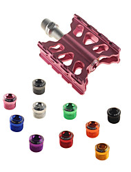 cheap -ASIR® Mountain Bike Pedals Flat & Platform Pedals Sealed Bearing Durable Easy to Install Aluminium for Cycling Bicycle Road Bike Mountain Bike MTB BMX Pink