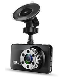 cheap -T638 Single Lens 720p / 1080p New Design / HD / Cool Car DVR 170 Degree Wide Angle 3 inch LTPS Dash Cam with Night Vision / G-Sensor / motion detection No Car Recorder / Loop recording
