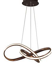 abordables -la simplicité en métal de lustre de sputnik moderne a mené pendant s'allume le restaurant de chambre à coucher de salon