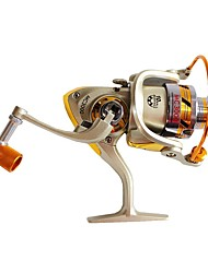 cheap -Fishing Reel Spinning Reel 5.5:1 Gear Ratio+10 Ball Bearings Right-handed Sea Fishing / Freshwater Fishing / Carp Fishing / General Fishing