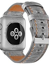Недорогие -Шерсть теленка Ремешок для часов Ремень для Apple Watch Series 4/3/2/1 Коричневый / Серый 23см / 9 дюйма 2.1cm / 0.83 дюймы