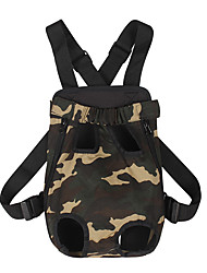 cheap -Dogs Cats Carrier & Travel Backpack Pet Carrier Portable Casual / Daily Leopard Camouflage Color