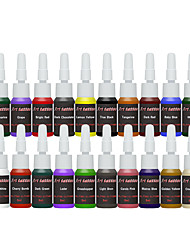 cheap -DAYPAL Tattoo Ink 21*30 ml Professional - Baby Blue / Bright Orange / Bright Red