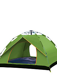 cheap -TANXIANZHE® 4 person Automatic Tent Outdoor Windproof UV Resistant Rain Waterproof Automatic Camping Tent 2000-3000 mm for Fishing Beach Camping / Hiking / Caving Oxford Cloth 210*150*125/240*210*135