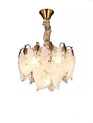 cheap -QIHengZhaoMing 7-Light 40 cm Chandelier Metal Glass Electroplated Traditional / Classic 110-120V / 220-240V
