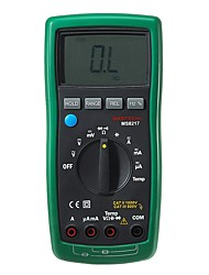 cheap -MASTECH MS8217 True RMS Digital Multimeter Meter AC/DC Voltage Current Resistance Capacitance Tester & Temperature Measurement