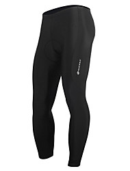 cheap -Nuckily Men's Cycling Tights Bike Pants Bottoms 3D Pad Quick Dry Anatomic Design Sports Polyester Spandex Black Mountain Bike MTB Road Bike Cycling Clothing Apparel Advanced Relaxed Fit Bike Wear