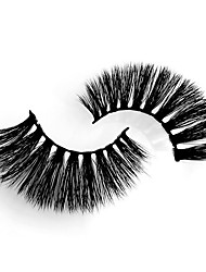 cheap -Eyelash Extensions 4 pcs Portable Professional Natural Curly Animal wool eyelash Daily Wear Practice Thick - Makeup Daily Makeup High Quality Cosmetic Grooming Supplies