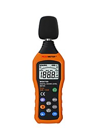 cheap -PEAKMETER PM6708 LCD Digital Audio Decibel Sound Noise Level Meter dB Meter Measuring Logger Tester 30 dB to 130 dB
