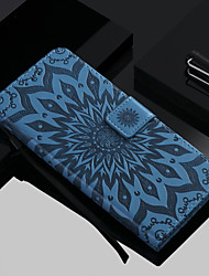 cheap -Case For Apple iPhone 11 / iPhone 11 Pro / iPhone 11 Pro Max Wallet / Card Holder / with Stand Full Body Cases Flower Hard PU Leather