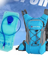 cheap -5 L Hiking Backpack Hydration Backpack Pack Lightweight Breathable Rain Waterproof Fast Dry Outdoor Hiking Cycling / Bike Camping Nylon Black Orange Blue
