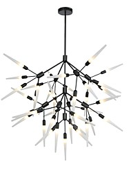 cheap -100 cm Chandelier Metal Sputnik Painted Finishes LED / Modern 110-120V / 220-240V