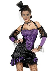 cheap -Witch Vampire Dress Cosplay Costume Party Costume Masquerade Fancy Costume Adults' Highschool Women's Sexy Uniforms Halloween Halloween Carnival Masquerade Festival / Holiday Spandex Polyester Purple