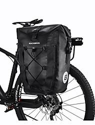 cheap -27 L Bike Rack Bag Bike Pannier Bag Waterproof Portable Rain Waterproof Bike Bag TPU 420D Nylon Bicycle Bag Cycle Bag Cycling Outdoor Exercise