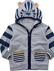 cheap -Kids Boys' Basic Striped Long Sleeve Regular Suit & Blazer Gray