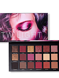cheap -18 Colors Eyeshadow Matte Shimmer EyeShadow Matte Shimmer Cruelty Free Formaldehyde Free Glitter Shine Pro lasting smoky Shimmer glitter gloss Coverage Long Lasting Daily Makeup Halloween Makeup