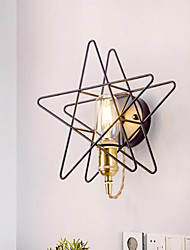cheap -Cool Modern / Contemporary Wall Lamps & Sconces Shops / Cafes / Office Metal Wall Light IP44 110-120V / 220-240V 40 W