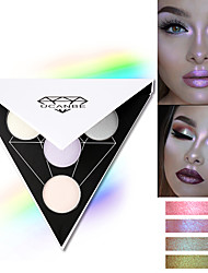 cheap -4 Colors 1 pcs Shimmer / Mineral Brightening / Beauty Face China Romantic / High Quality Alcohol Free / Glitter Shine / Best Quality Wedding Party / Date Makeup Cosmetic