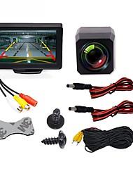 Недорогие -BYNCG WG4.3T-4LED 4.3 дюймовый TFT-LCD 480TVL 480p 1/4 дюйма, цветная КМОП Проводное 120° 1 pcs 120 ° 4.3 дюймовый