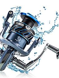 cheap -Fishing Reel Spinning Reel 5.5:1 Gear Ratio+7 Ball Bearings Hand Orientation Exchangable Sea Fishing / Bait Casting / Lure Fishing