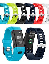 Недорогие -Ремешок для часов для Vivosmart HR+(Plus) Garmin Спортивный ремешок силиконовый Повязка на запястье