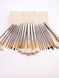 cheap -Professional Makeup Brushes Blush Brush 24pcs Full Coverage Wooden / Bamboo for Eyeliner Brush Blush Brush Foundation Brush Lip Brush Eyeshadow Brush Eyelash Brush Powder Brush