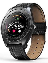 cheap -KING-WEAR® V10 Men Smartwatch Android Bluetooth 2G Waterproof Heart Rate Monitor Touch Screen Calories Burned Hands-Free Calls Pedometer Call Reminder Activity Tracker Sleep Tracker Sedentary Reminder