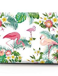 cheap -MacBook Case Flamingo Plastic for New MacBook Pro 15-inch / New MacBook Pro 13-inch / Macbook Pro 15-inch