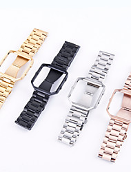 cheap -Watch Band for Fitbit Blaze Fitbit Classic Buckle Stainless Steel Wrist Strap