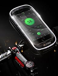 cheap -Bike Handlebar Bag 5.7-6.3 inch Touch Screen Waterproof Cycling for Cycling Black