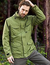 Недорогие -Муж. Куртки 3-в-1 Куртка для туризма и прогулок Зима на открытом воздухе Водонепроницаемость С защитой от ветра Дожденепроницаемый Быстровысыхающий Куртки 3-в-1 Зимняя куртка / Катание на лыжах