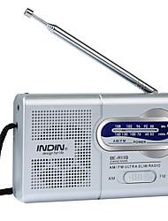 Недорогие -BC-R119 Портативный радиоприемник МР3 плеер Другое Мировой ресивер Серебряный