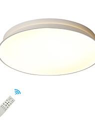 cheap -1-Light UMEI™ 52 cm Creative / New Design Flush Mount Lights Metal Acrylic Circle Painted Finishes Artistic / Modern 110-120V / 220-240V / FCC