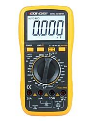 Недорогие -victor vc9808 + цифровой частотно-температурный индукторный мультиметр
